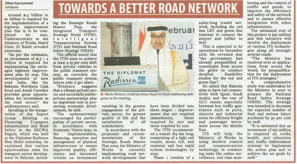 Towards a better road network